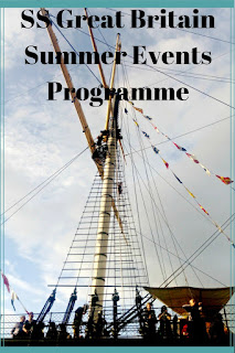 Details of the exciting summer programme at the SS Great Britain