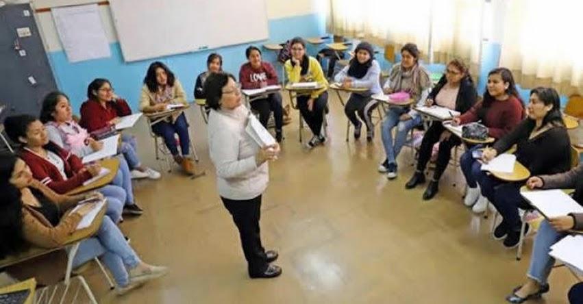 MINEDU: Más de 5 mil docentes y directivos de Educación Superior Tecnológica serán capacitados por el Ministerio de Educación