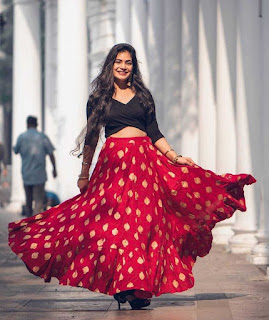 red skirt for girls