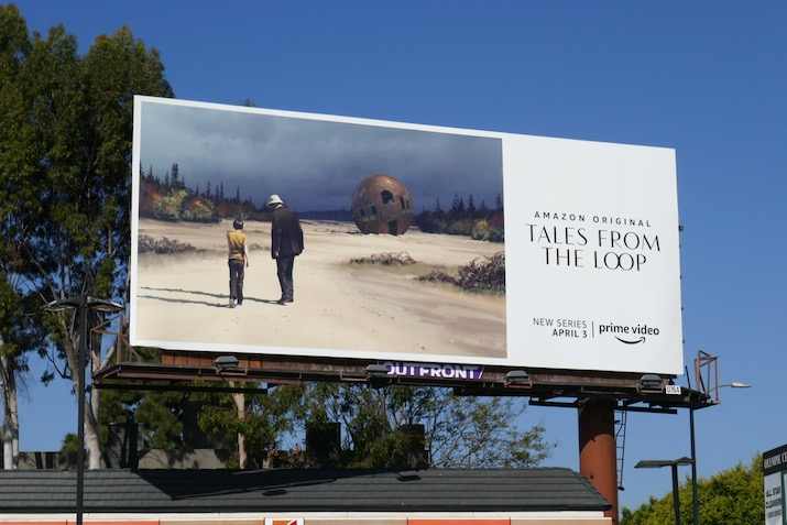 Tales from the Loop series launch billboard