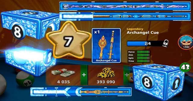 Legendary 8 ball pool cue 13 level 7