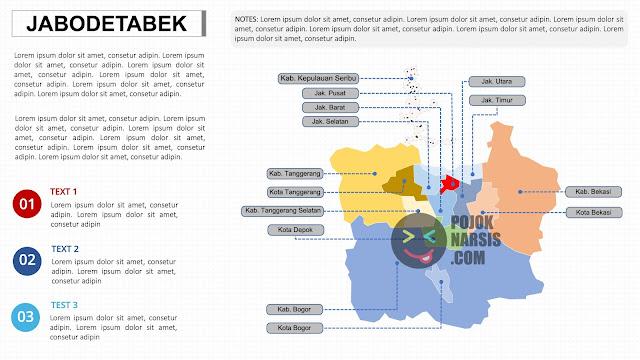 Peta Jabodetabek HD PPTX