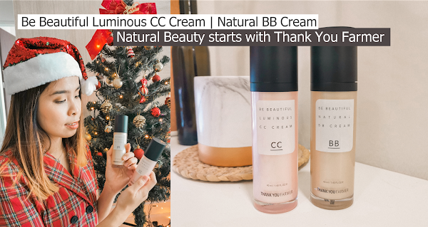 Natural Beauty starts with Thank You Farmer | Be Beautiful Luminous CC Cream | Natural BB Cream