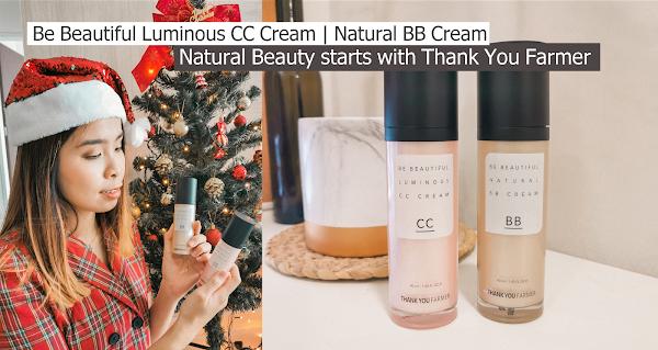 Natural Beauty starts with Thank You Farmer | Be Beautiful Luminous CC Cream | Natural BB Cream