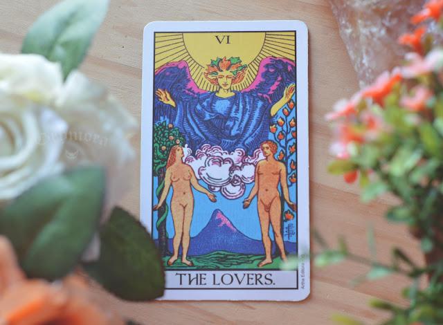 Significado Carta 6 - Os Enamorados no Tarot do amor, dinheiro e trabalho, saúde, conselho, obstáculo e invertida