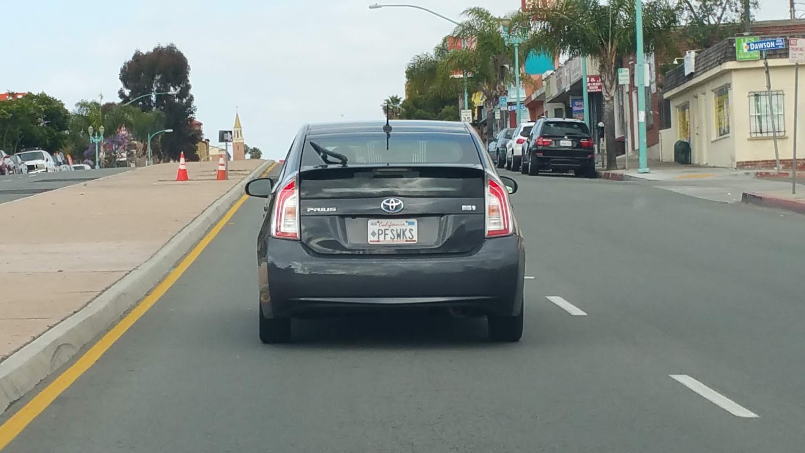 Just A Car Guy: can anyone figure out this license plate's