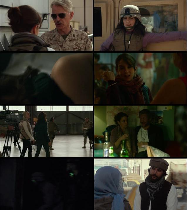 Whiskey Tango Foxtrot 2016 English 720p WEB-DL
