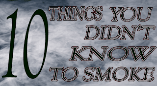10 food items that you never thought you could smoke! Once you master these items your culinary flavoring world with smoke will be end list.