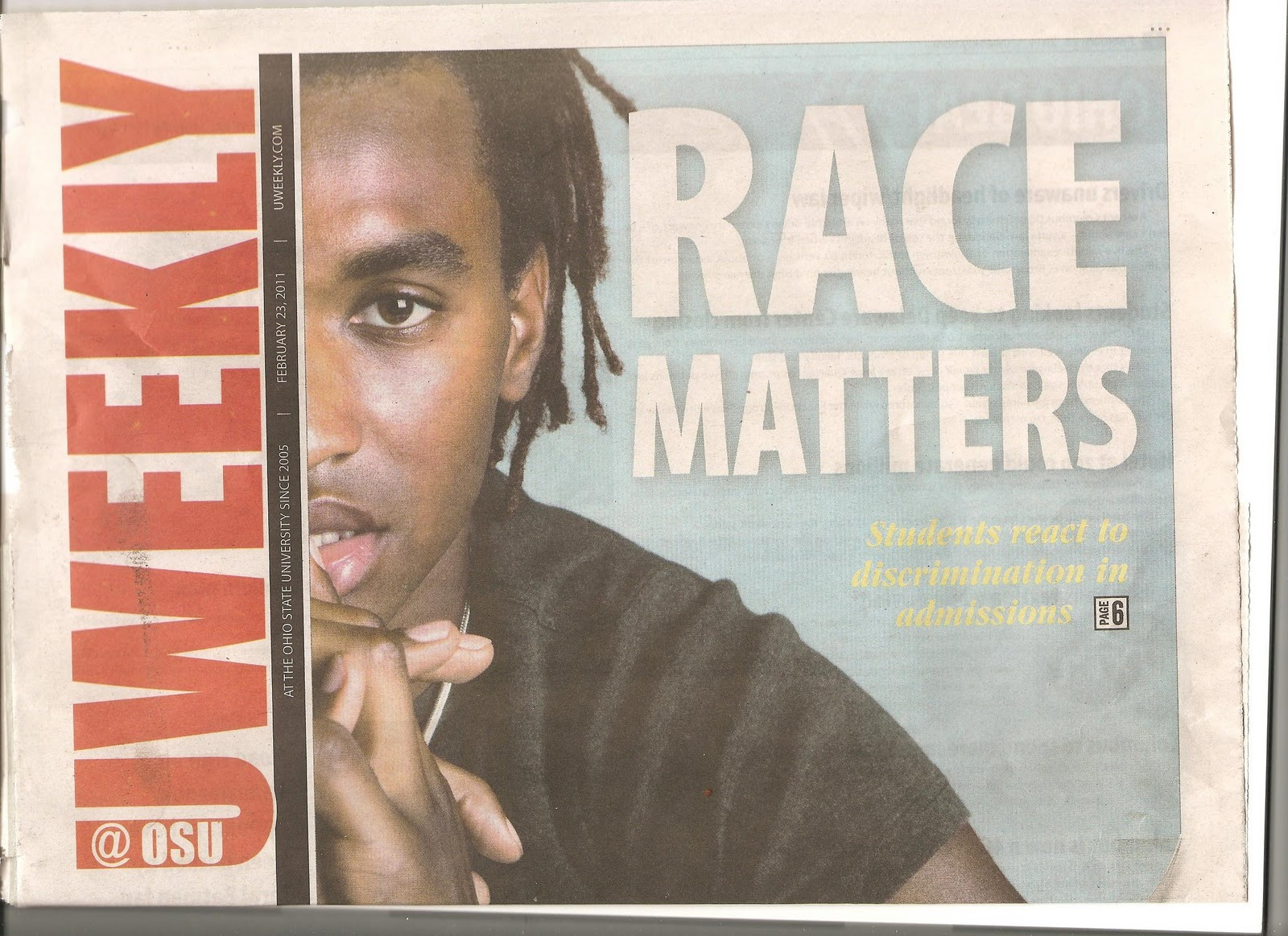 race matter essay Race and ethnicity are physical attributes of people, but also ways of seeing and  understanding the world media plays an influential role in shaping how we.