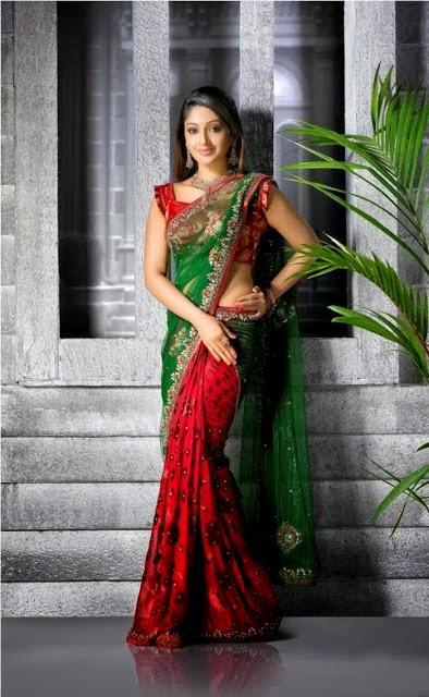 Malayalam actress Mithra Kurian navel show