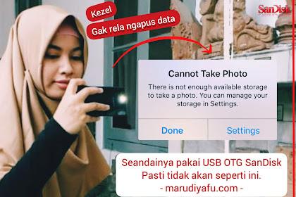 Dengan USB OTG SanDisk, Bekerja Jadi Lancar
