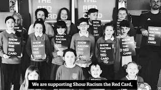 Football- Association- of- Wales- supporting -Show-Racism- the -Red -Card's- day -of- action