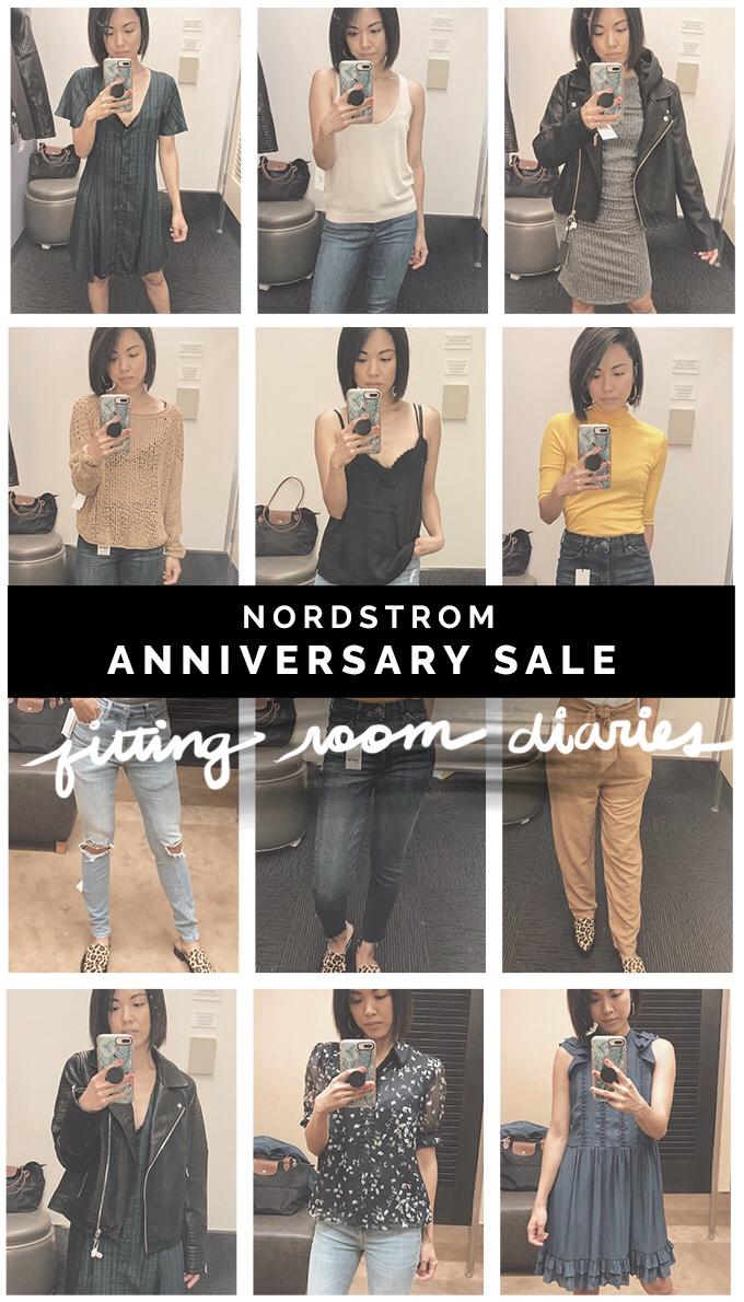 ef7e24cc532 Nordstrom Anniversary Sale Early Access Fitting Room Diaries ...