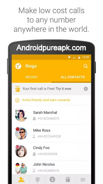 Ringo: International calls Apk Download