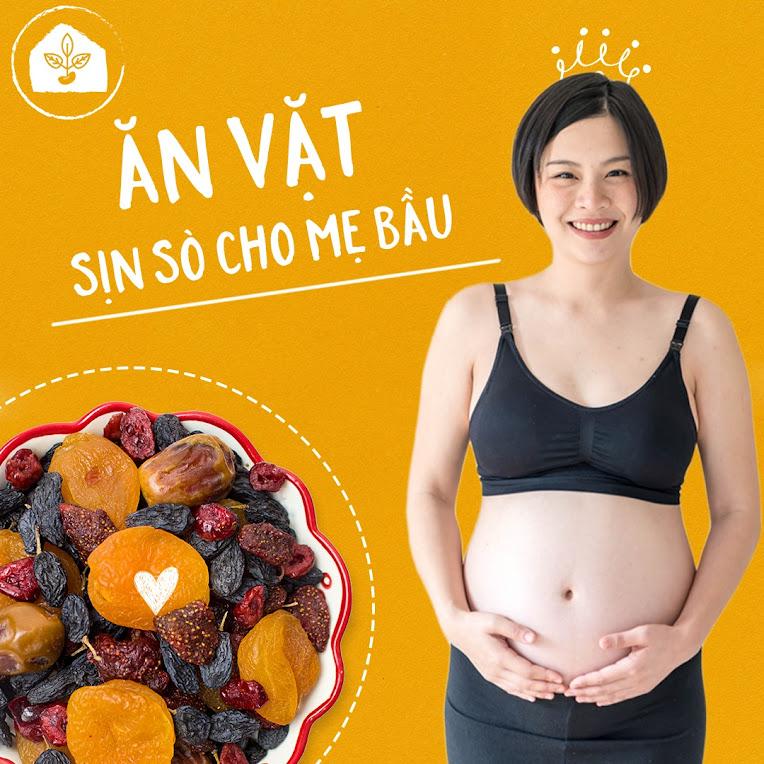5 loại hạt bổ dưỡng giúp Mẹ Bầu giữ dáng