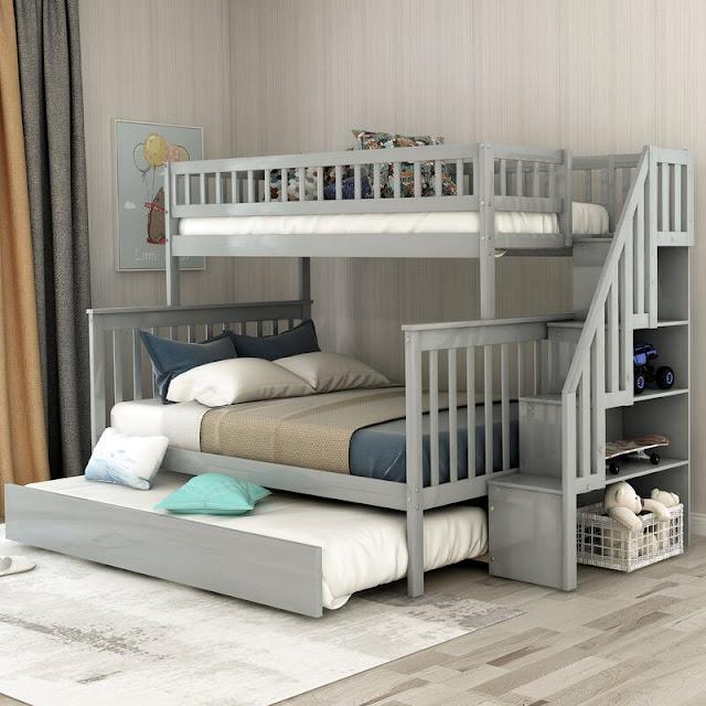 Giường 3 tầng và đặc điểm