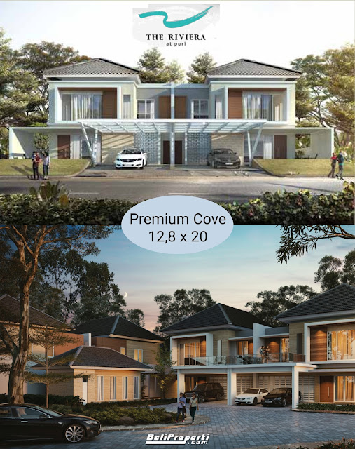 rumah premium the riviera at puri