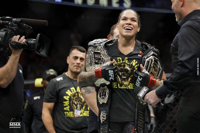 Amanda Nunez UFC Featherweight And Bantamweight Champion
