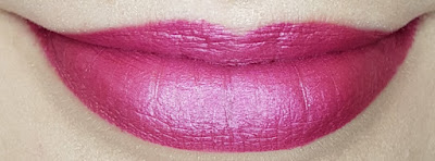 Avon True Luminous Velvet Lipstick swatch in Violet Shine