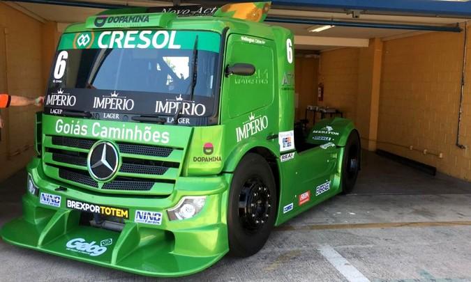 Mercedes-Benz defende a liderança da Copa Truck em Goiânia