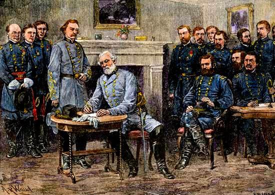 Guerra Civil Americana: Lee se rinde a Grant