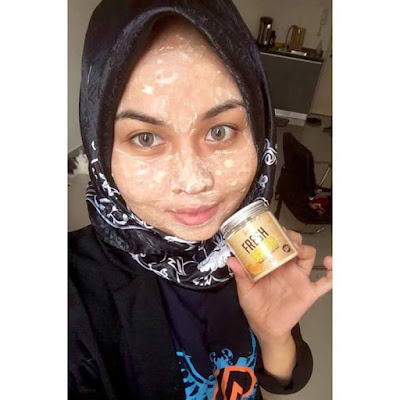 Lurveya Masker - Masker Lemon Vitamin C - Lurveya Fresh Lemon