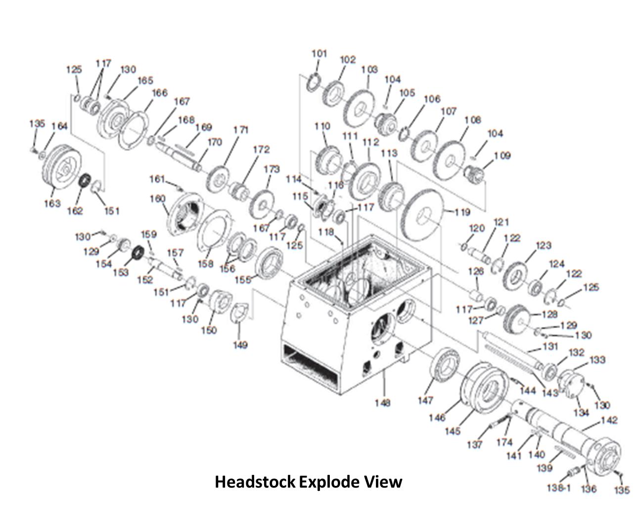 simple exploded view diagram elements of plot worksheet monarch lathe south bend elsavadorla
