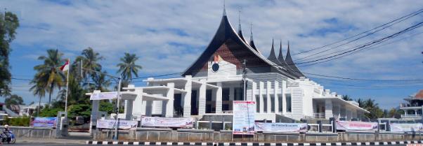 Gedung kantor Bupati Kabupaten Tanah Datar