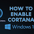 Cara Enable Hey Cortana di Windows 10