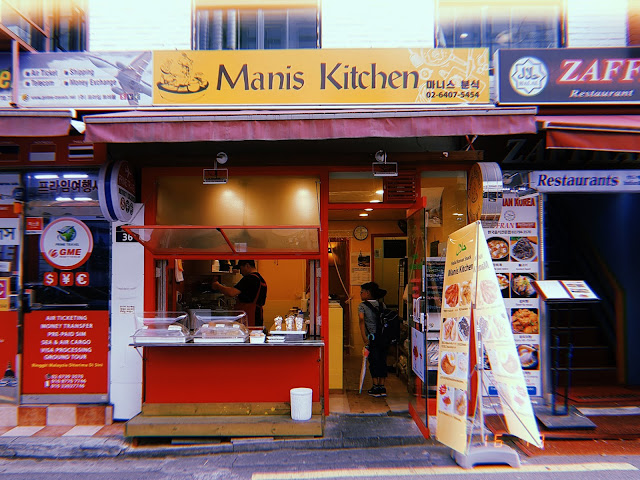 Manis Kitchen, Itaewon