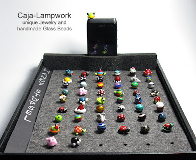 Handy Stoepsel aus Glas