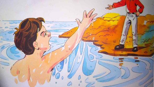 तैरने की चाहत Hindi Moral Stories For Class 5th