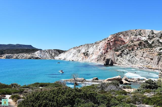Firiplaka, isla de Milos (Grecia)