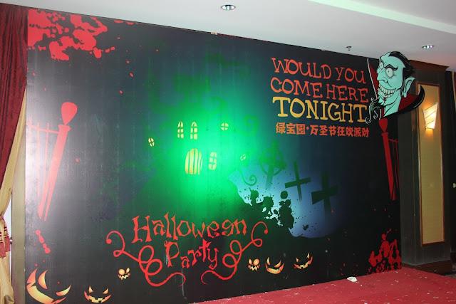 Thi công backdrop cho ngày lễ halloween