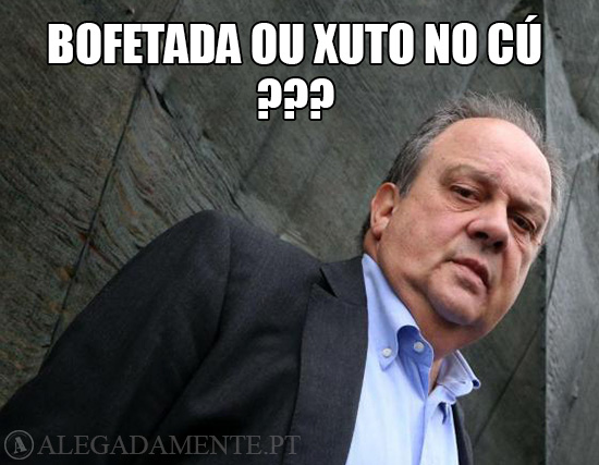 Imagem de João Soares – Bofetada ou Xuto no Cú