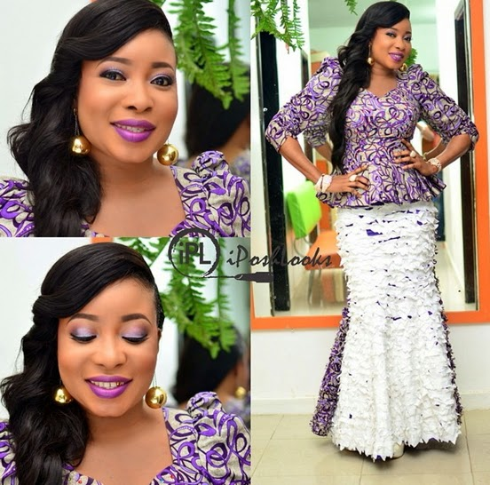 Nollywood Actress Lizzy Anjorin Dazzles In New IPosh Looks