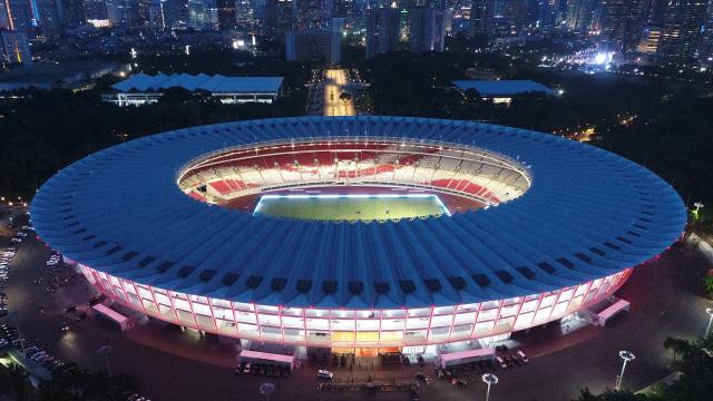Gelora Bung Karno Terpilih sebagai Stadion Termegah se-Asia Tenggara Versi AFC
