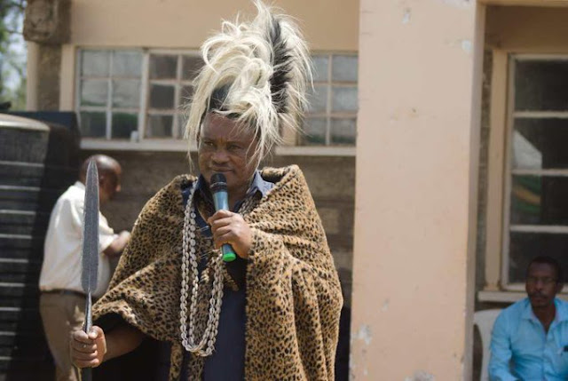 National Assembly Speaker Justin Muturi coronated photo