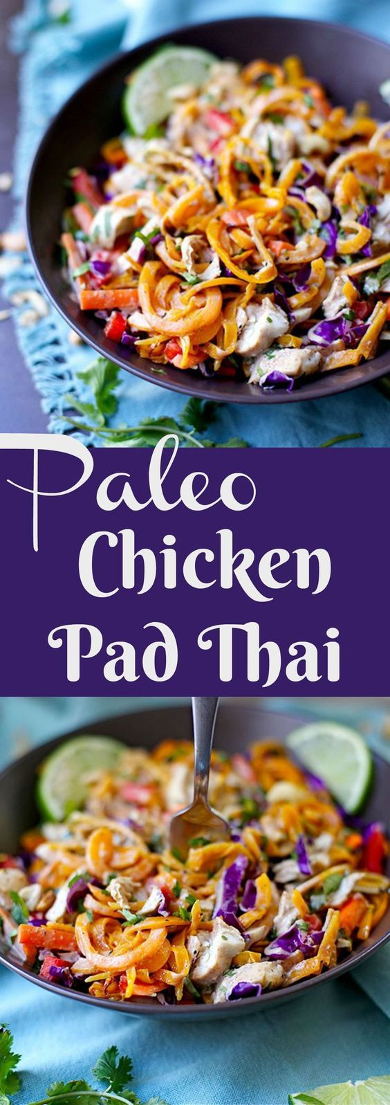 Keto Paleo Chicken Pad Thai