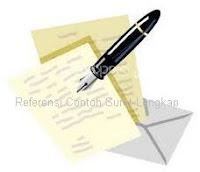 referensi contoh surat lengkap