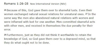 Romans 1: 26-28