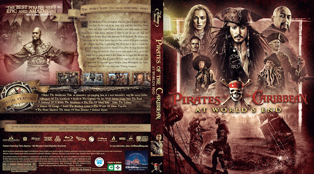 Pirates of the Caribbean: At World's End Bluray Cover