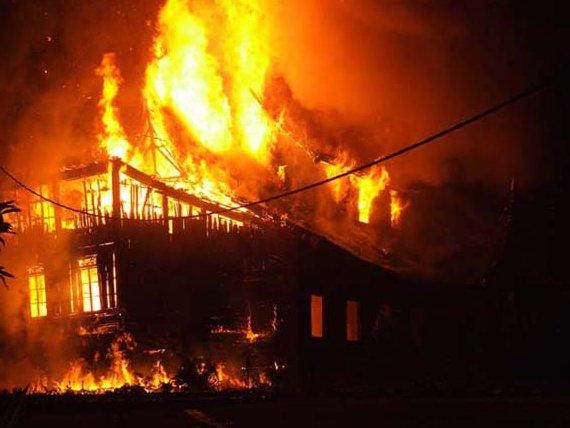 Empat Unit Rumah Warga di Aceh Singkil terbakar