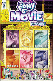 MLP My Little Pony: The Movie Prequel #3 Comic