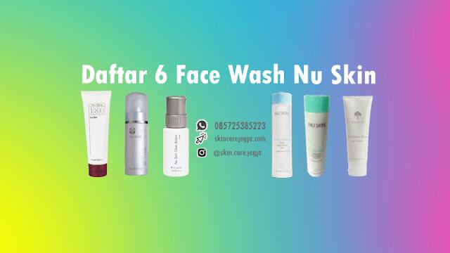 jual face wash nu skin harga murah di Indonesia