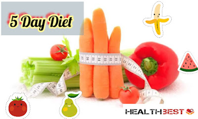 Weight loss diet for 5 days: all you need to know about