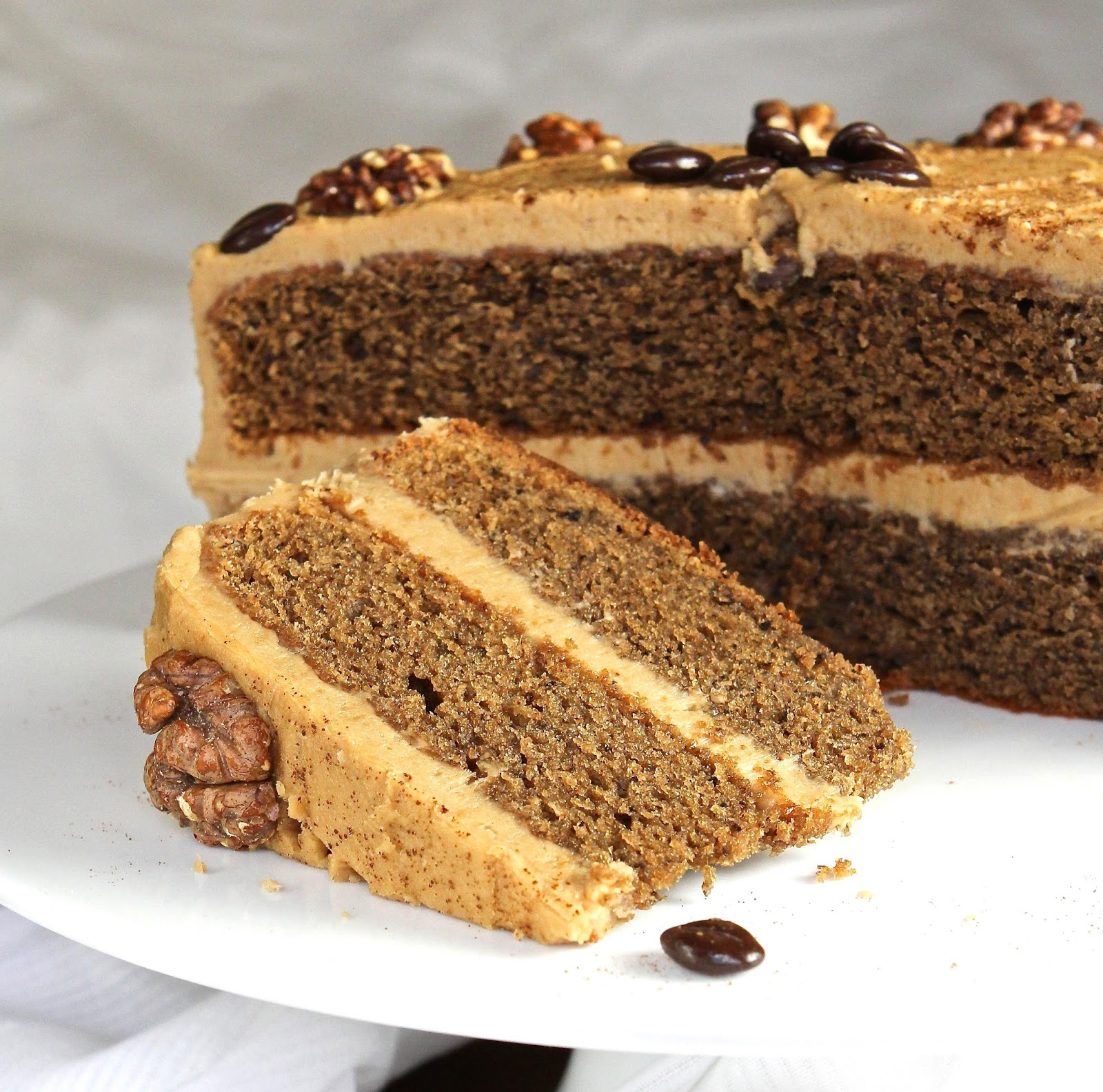 -glutened version is a combination of a traditional Coffee and Walnut ...