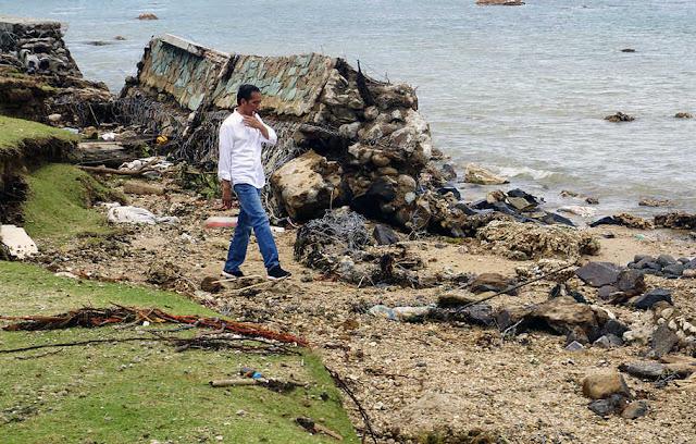 Lemah, Kemampuan Jokowi Tangani Bencana