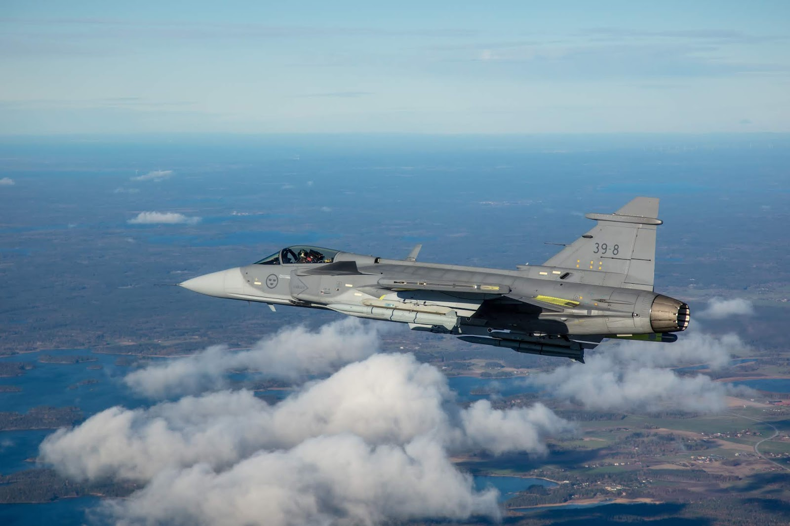 Air101: Finland considers Gripen aircraft from Saab
