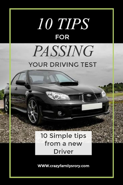 Ten tips for Passing your Practical Driving Test | My Crazy Family Story
